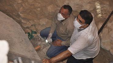 Egipscy archeologowie przygotowują się do otwarcia sarkofagu