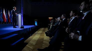 3.05.2019, wykład Donald Tuska na Uniwersytecie Warszawskim.