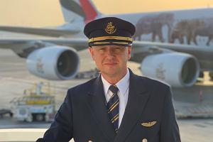 Polski pilot w Emirates: Marzenie się spełniło. Latam największymi samolotami pasażerskimi na świecie