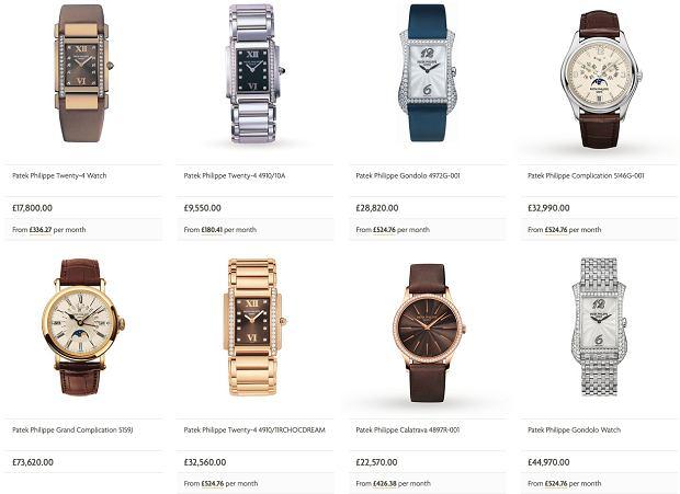 Zegarki Patek Philippe w ofercie Watches Of Switzerland