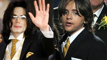 Michael Jackson i Prince Jackson