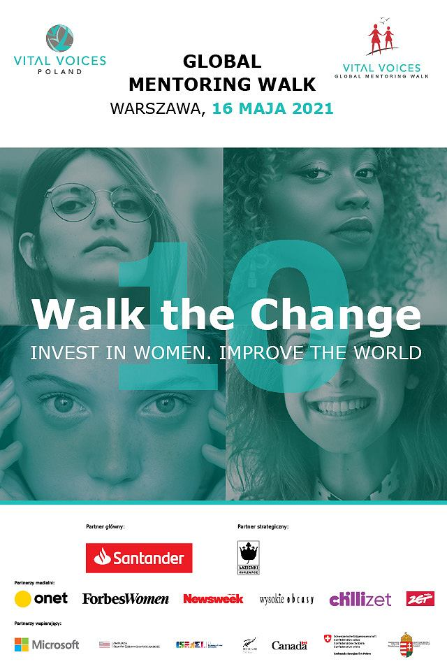 Zdjęcie numer 1 w galerii - Global Mentoring Walk. Vital Voices zaprasza na spacer do Łazienek Królewskich