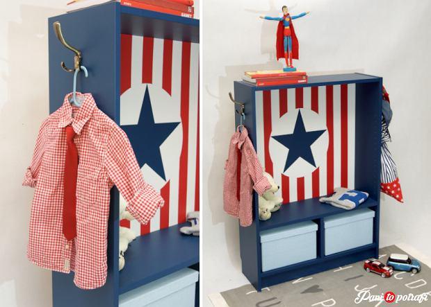 Kolorowa szafka do pokoju dziecka - zrób to sam