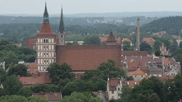 Katedra św. Jakuba w Olsztynie.