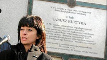 Zuzanna Kurtyka - żona Janusza Kurtyka