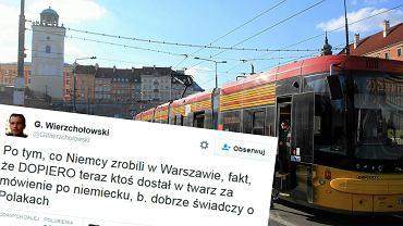 Grzegorz Wierzchołowski skomentował atak na profesora UW
