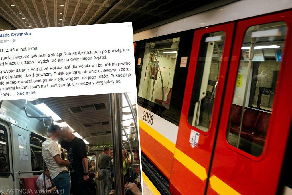 Blogerka opisała nieprzyjemny incydent w metrze