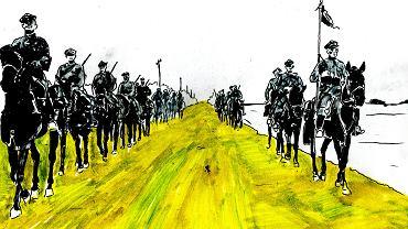 Ilustracja z książki 'Apokalipsa 1939. Początek'