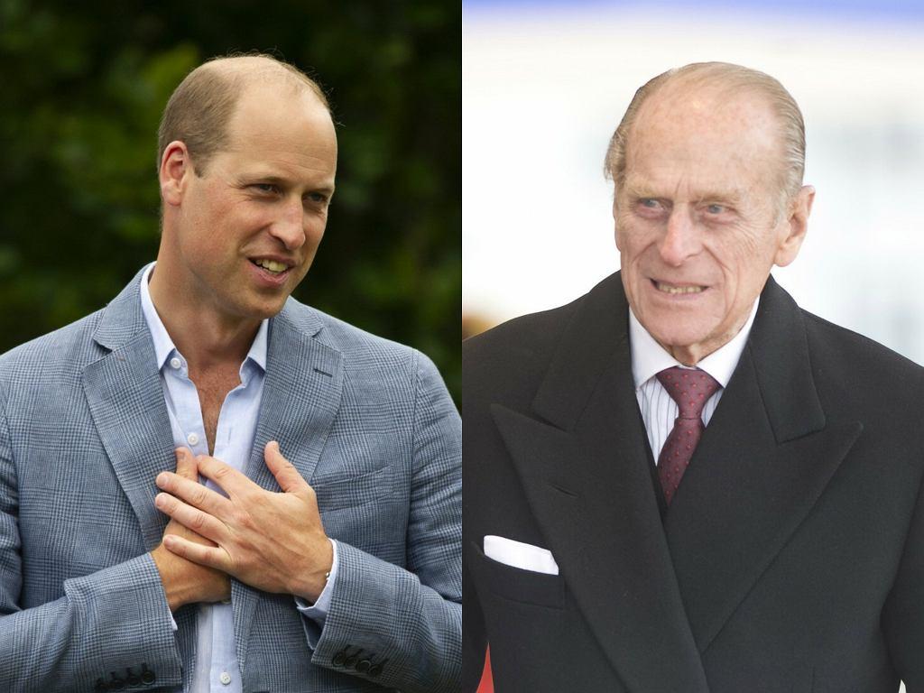 Książę William pożegnał księcia Filipa w osobistym wpisie