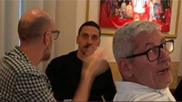 Ibrahimović spotkał się z przyjaciółmi w restauracji pomimo obostrzeń antycovidowych
