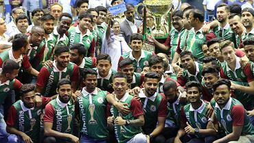 Mohun Bagan cieszy się z mistrzostwa Indii