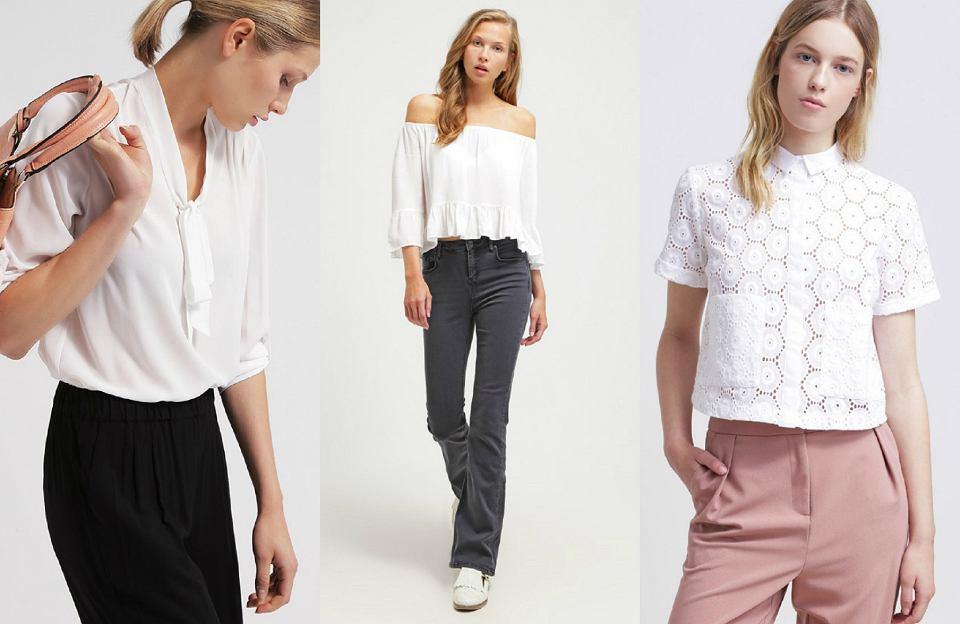 410941d3 Biała bluzka - 30 najciekawszych modeli wyłapanych z sieci
