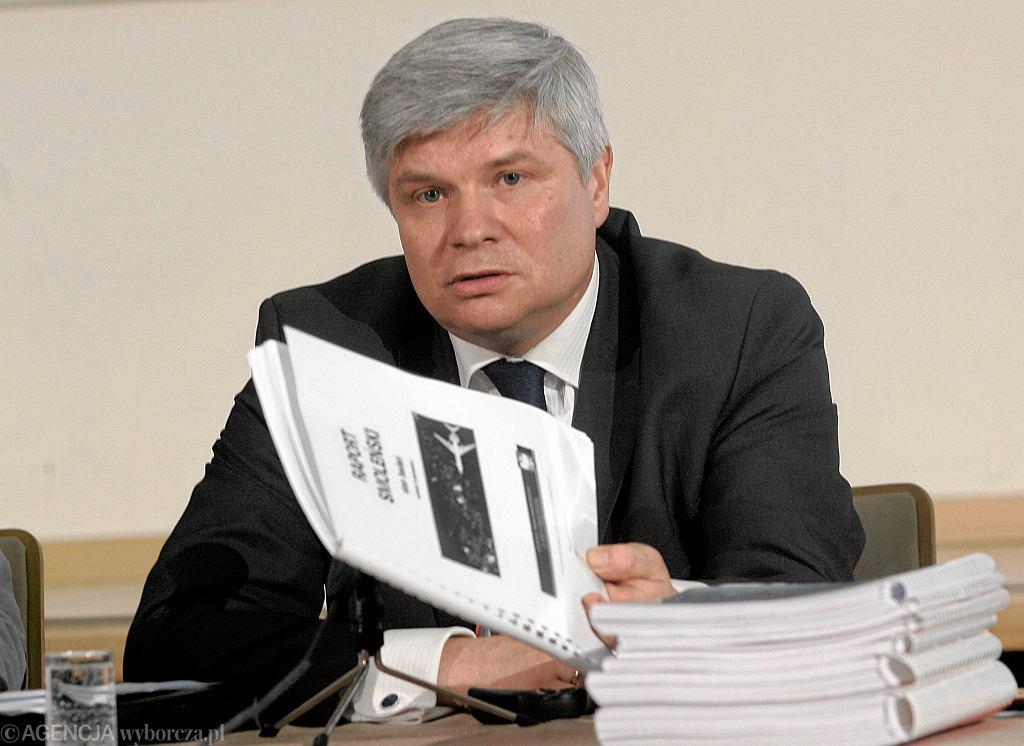 Maciej Lasek, szef Komisji ds. Badania Wypadków Lotniczych