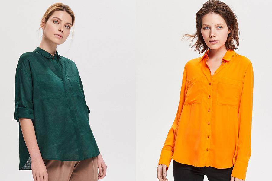 Kolorowe koszule damskie