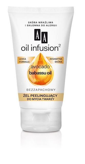 AA Oil Infusion2 żel do mycia twarzy