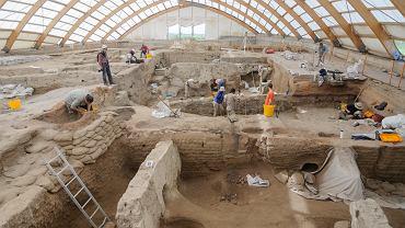 Tyle zostało po Çatalhöyük, mieście w południowej Anatolii istniejącym od 9,1 tys. do 7,9 tys. lat temu
