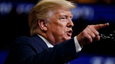 Donald Trump miał zatwierdzić atak odwetowy na Iran