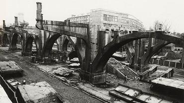 Unikatowe zdjęcia z przebudowy Mostu Poniatowskiego