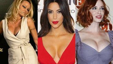 Christina Hendricks, Pamela Andreson, Kim Kardashian