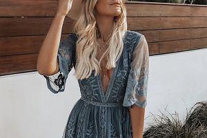 sukienka boho