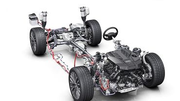 Audi A8 układ Mild Hybrid