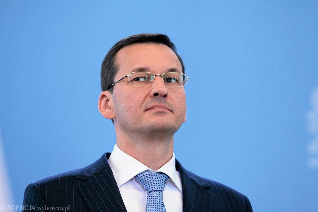 Mateusz Morawiecki, minister finansów i rozwoju