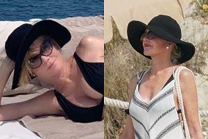 Melanie Griffith na wakacjach w Hiszpanii