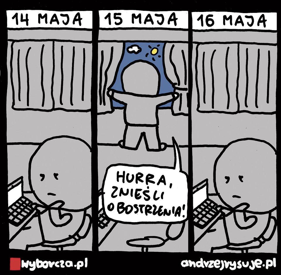 Andrzej Rysuje | 15 MAJA - Andrzej Rysuje, 9.05.2021 - null
