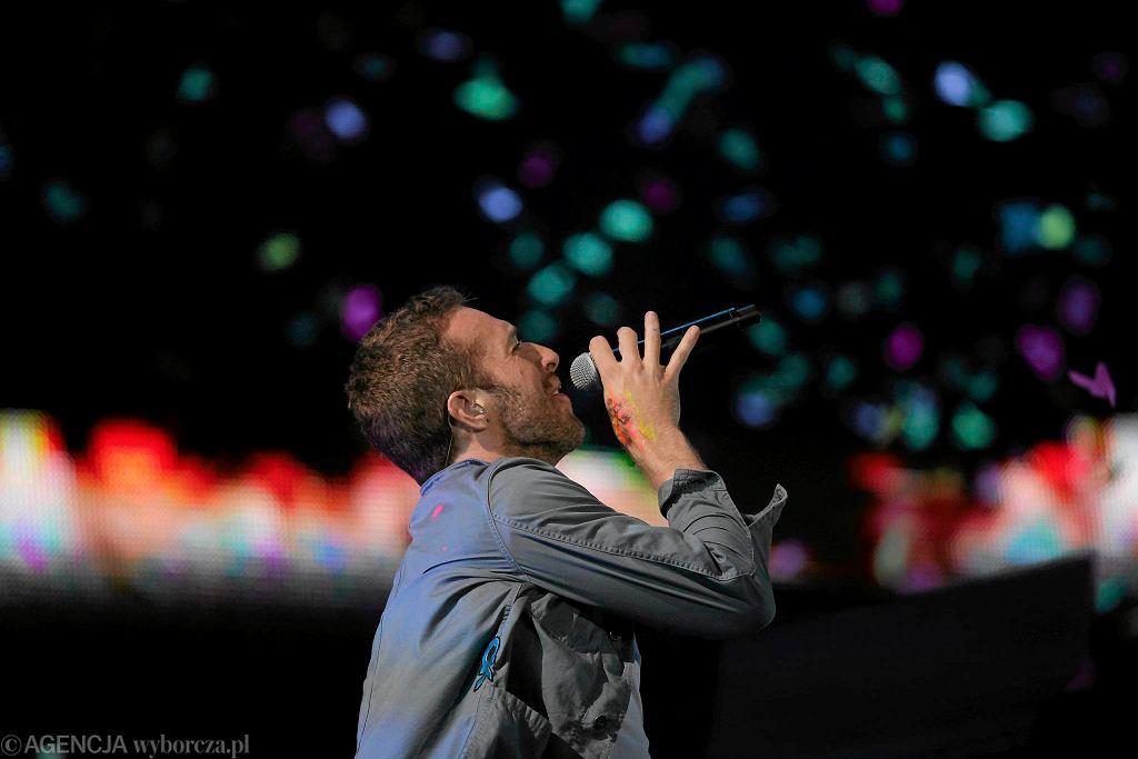 Coldplay na festiwalu Open'er w Gdyni (30 czerwca 2011 r.)