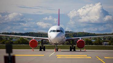 Lotnisko w Gdańsku, zdjęcie z 28 maja 2020 r.