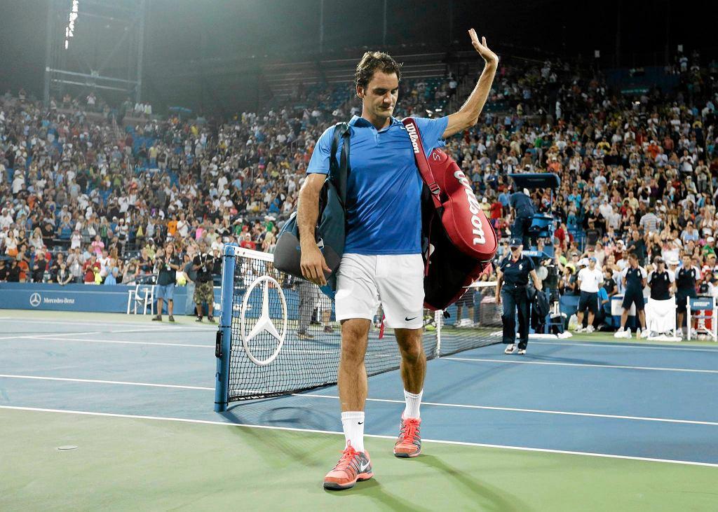 US Open. Roger Federer przegrał w 4. rundzie z Tommy'm Robredo