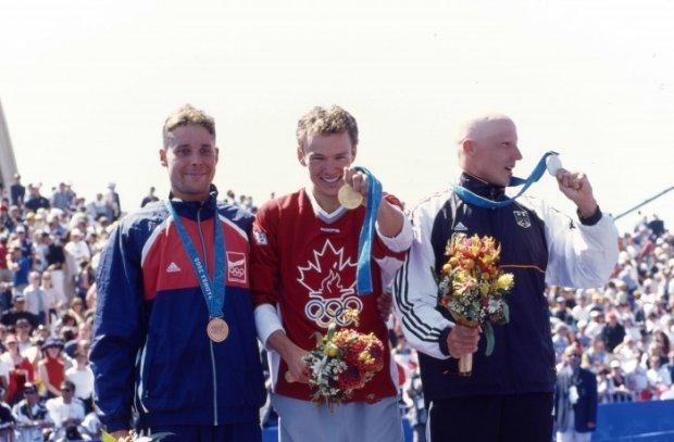 Triathlonowe podium na igrzyskach olimpijskich w Sydney 2010