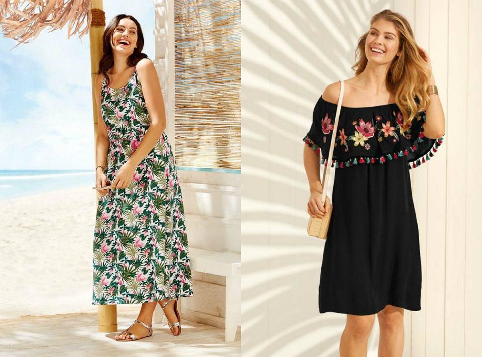 Kwieciste sukienki z Lidla