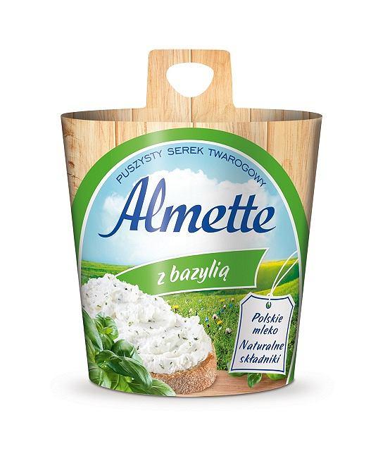 Almette z bazylią