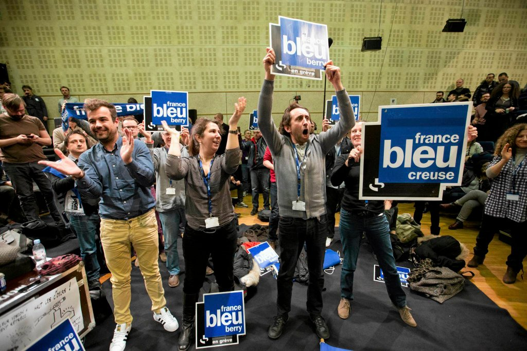 Państwowe stacje radiowe we Francji od 19 marca prowadzą strajk