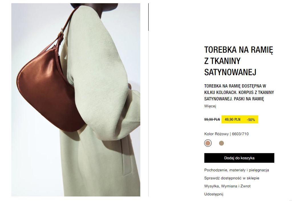 Torebka Zara