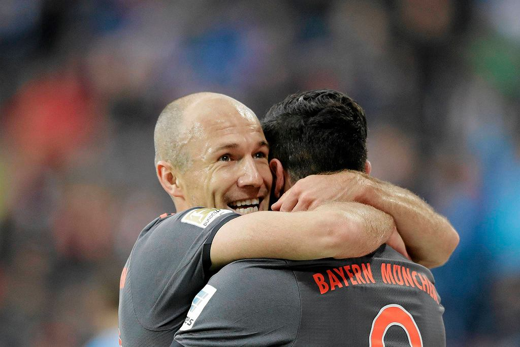 Arjen Robben i Robert Lewandowski
