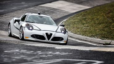 Alfa Romeo 4C na Nürburgringu