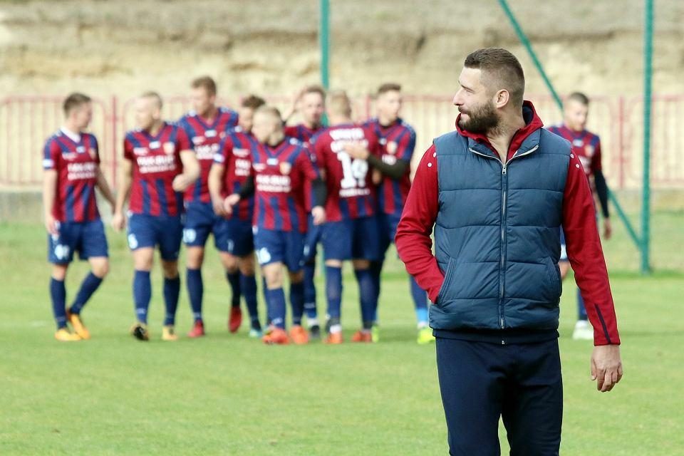 20 października 2018 r., trzecia liga: Warta Gorzów - Ślęza Wrocław 2:3 (2:1)