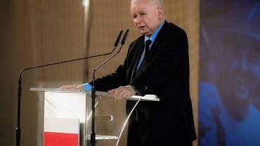 Jarosław Kaczyński w Wysokiem Mazowieckiem