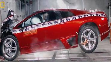 Lamborghini Murcielago crash test