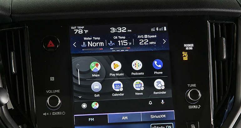 Apple CarPlay w Subaru Outback