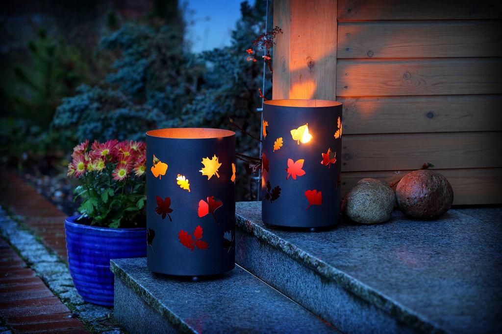 Lampiony i latarenki to doskonała dekoracja ogrodu