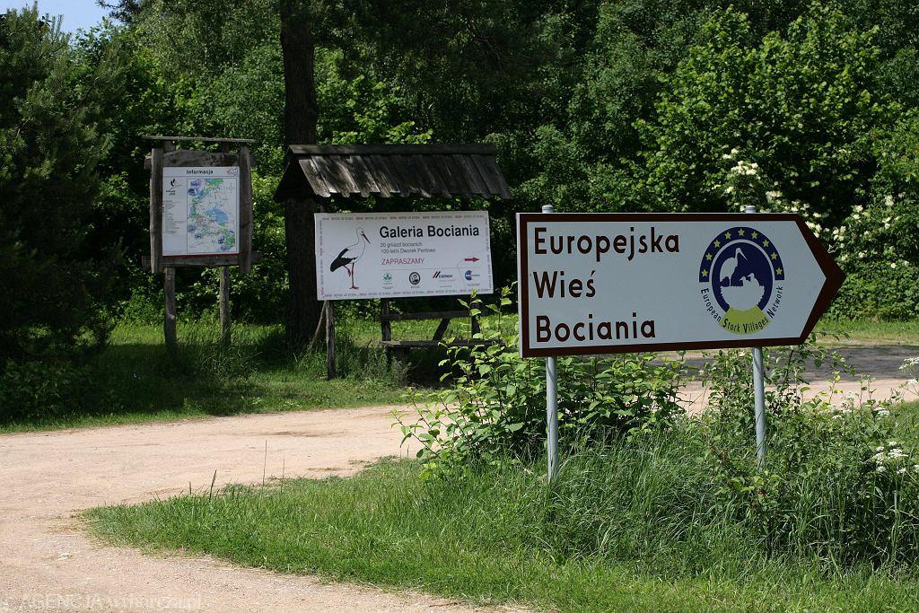Od 2001 roku majątek ma tytuł Europejskiej Wioski Bocianiej