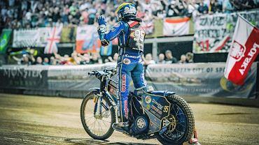 Bartosz Zmarzlik w czasie rywalizacji w Grand Prix 2019