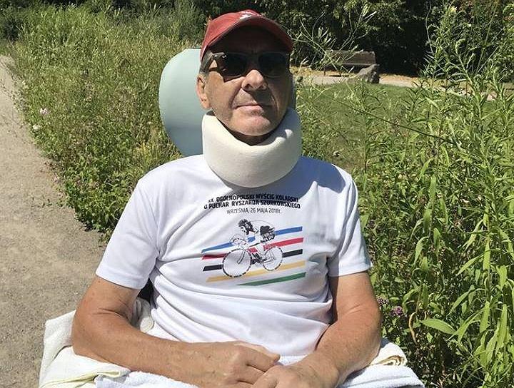Ryszard Szurkowski ma uszkodzony rdzeń kręgowy