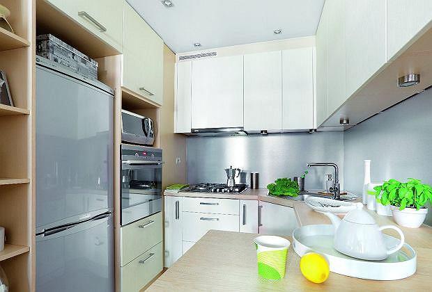 Tak zaprojektować małą kuchnię potrafi tylko architekt.
