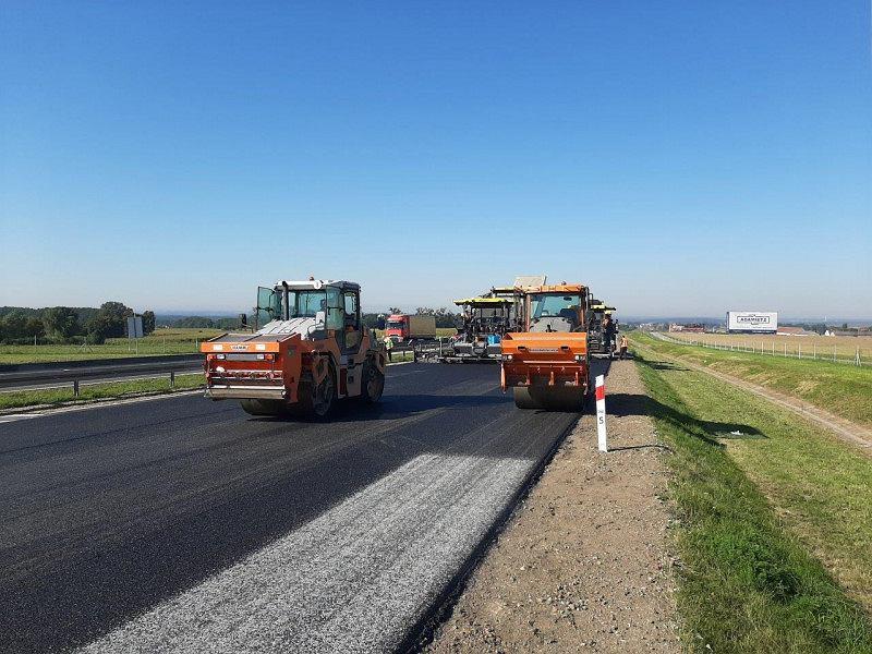 Autostrada A4, remont