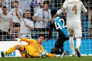Real Madryt wywalczył punkt w meczu z Club Brugge. Stracił dwie kuriozalne bramki