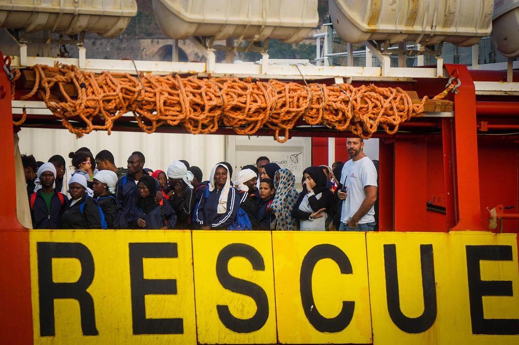 Migranci na Morzu Śródziemnym